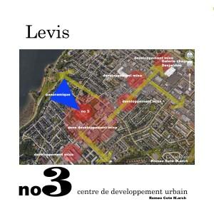 Fort no 3 R Côté carte Lévis3